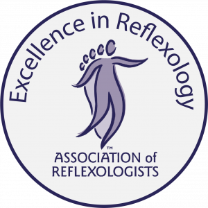 Excellence in reflexology logo AOR